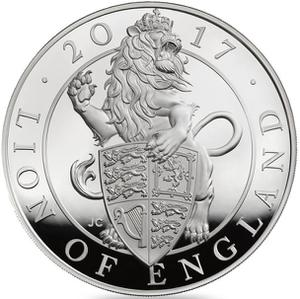 United Kingdom / Silver Kilo (1 kg) - reverse photo