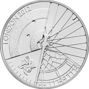 United Kingdom / Five Pounds 2012 Paralympic Games - reverse photo