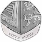 United Kingdom / Fifty Pence 2016 (mint sets only) - reverse photo