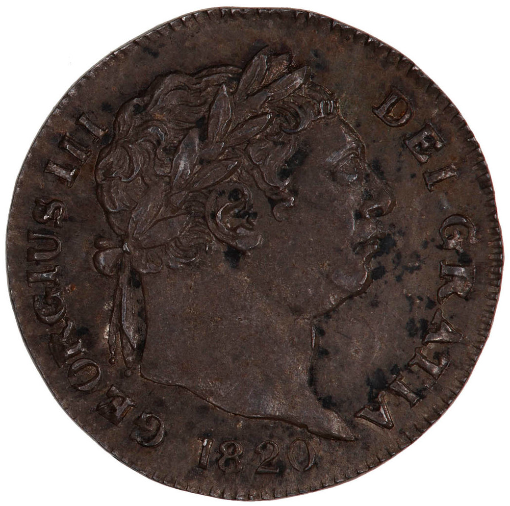 Penny 1820 (Maundy): Photo Coin - Penny, George III, Great Britain, 1820