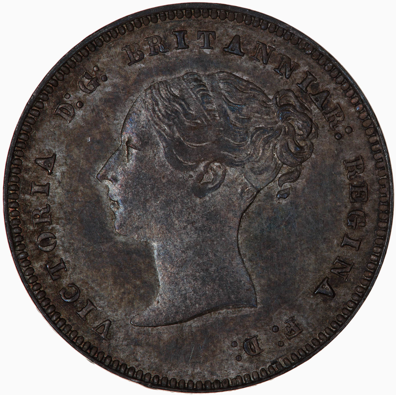 Fourpence 1884 (Maundy): Photo Coin - Groat (Maundy), Queen Victoria, Great Britain, 1884