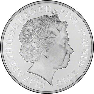 United Kingdom / Five Pounds 2010 Body - Rhossili Bay - obverse photo