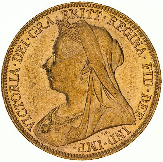 Sovereign 1898: Photo Coin - Sovereign, New South Wales, Australia, 1898