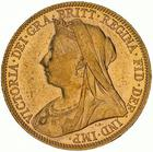 United Kingdom / Sovereign 1898 - obverse photo