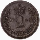 Twopence 1823 (Maundy): Photo Coin - Twopence, George IV, Great Britain, 1823