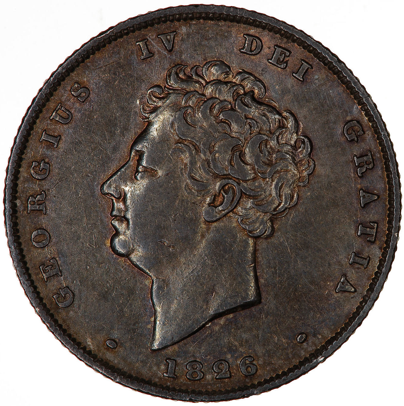 Shilling: Photo Coin - Shilling, George IV, Great Britain, 1826