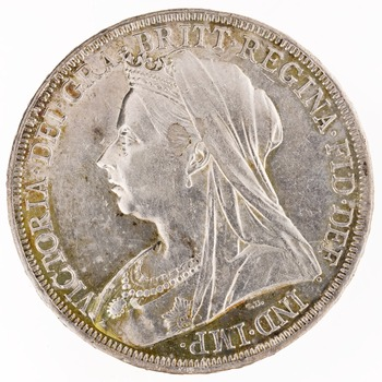 Crown 1894: Photo Silver crown, London (England)
