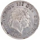 Halfcrown 1817 Small Head: Photo Silver 1/2 crown, Great Britain