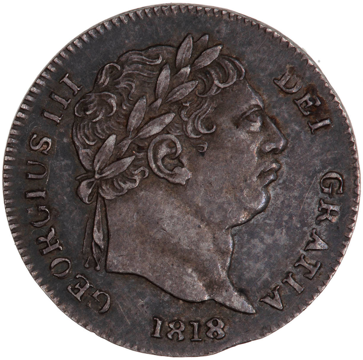 Twopence (Circulating): Photo Coin - Twopence, George III, Great Britain, 1818