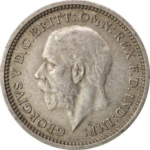 United Kingdom / Threepence 1936 (Circulating) - obverse photo