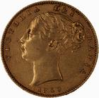 United Kingdom / Sovereign 1859 - obverse photo