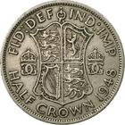 Halfcrown 1948: Photo 1948 George VI British Half Crown