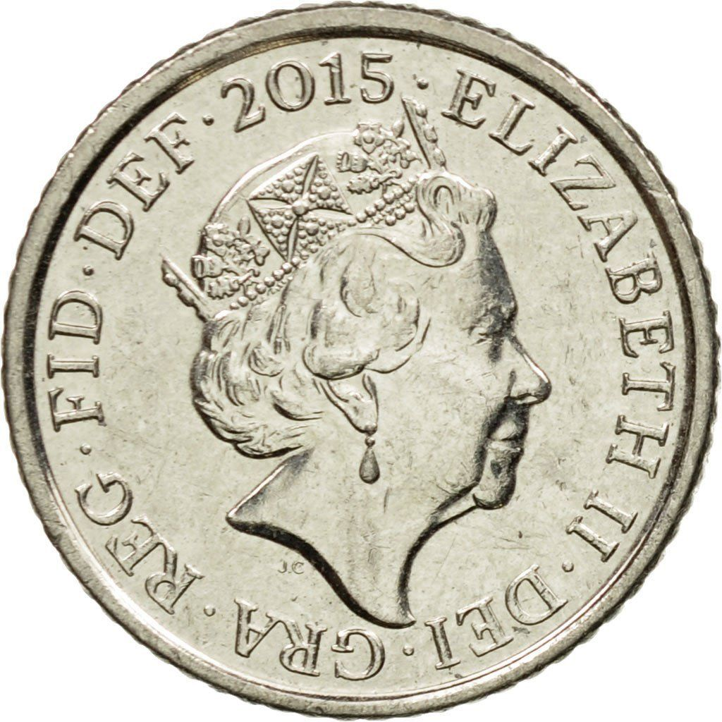 Five Pence: Photo Coin, Great Britain, 5 New Pence, 2015