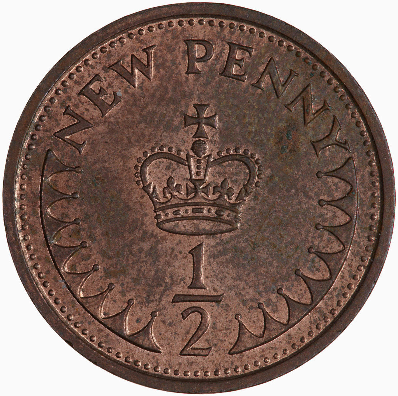 Half Penny 1974, Coin from United Kingdom - Online Coin Club