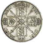 Florin 1891: Photo QUEEN VICTORIA, Jubilee coinage, florin 1891 (S.3825)