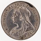 Shilling 1901: Photo Silver shilling, Great Britain