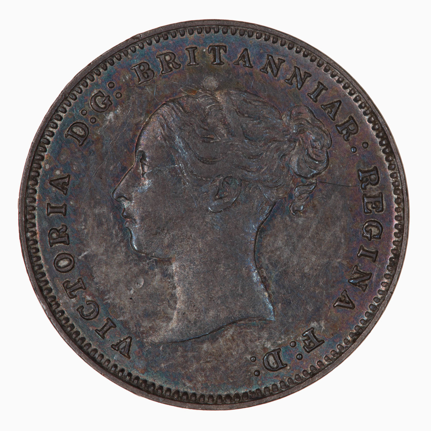 Maundy Fourpence (Pre-decimal): Photo Coin - Groat (Maundy), Queen Victoria, Great Britain, 1882