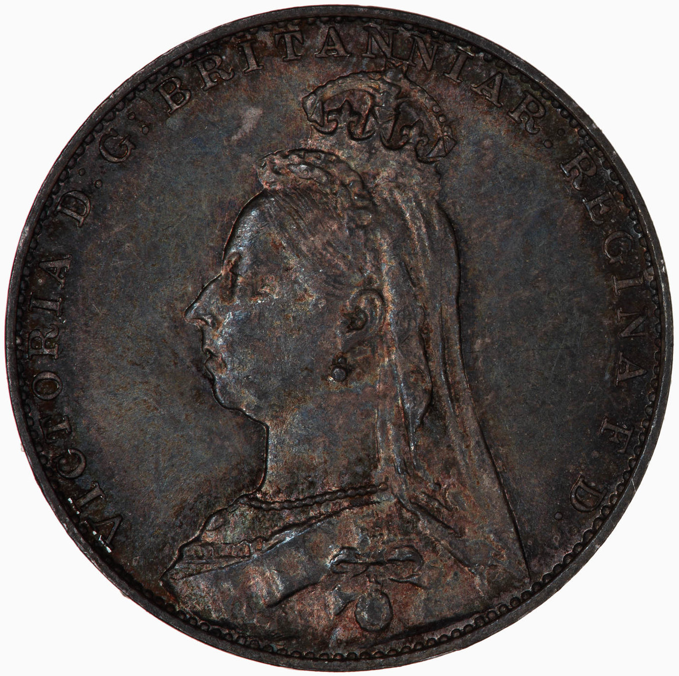 Fourpence 1892 (Maundy): Photo Coin - Groat (Maundy), Queen Victoria, Great Britain, 1892