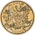 United Kingdom / One Pound 2016 Last Round Pound - reverse photo