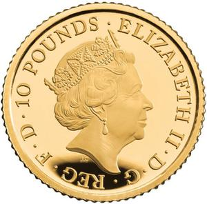 United Kingdom / Gold Tenth-Ounce (1/10 oz) - obverse photo