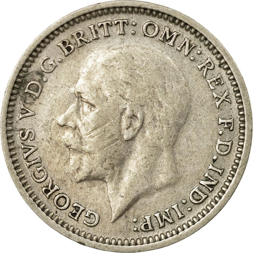 Threepence 1935 (Circulating): Photo Coin, Great Britain, 3 Pence, 1935