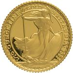 United Kingdom / Gold Tenth-Ounce 2002 Britannia - reverse photo
