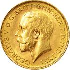 United Kingdom / Half Sovereign 1915 - obverse photo