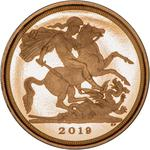 United Kingdom / Quarter Sovereign 2019 - reverse photo