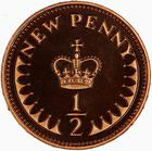 United Kingdom / Half Penny 1981 - reverse photo