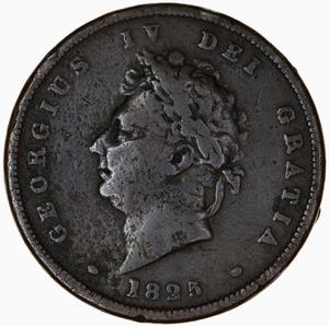 United Kingdom / Penny 1825 - obverse photo