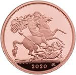 United Kingdom / Five Sovereigns 2020 - reverse photo