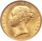 United Kingdom / Sovereign 1839 - obverse photo