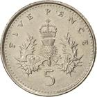 United Kingdom / Five Pence 1992 - reverse photo