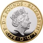 United Kingdom / Two Pounds 2019 D-Day - obverse photo