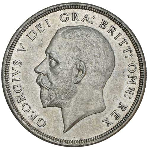 Crown 1933: Photo GEORGE V, fourth coinage, wreath crown, 1933 (S.4036)