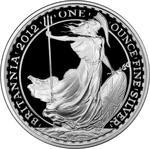 United Kingdom / Silver Ounce 2012 Britannia - reverse photo