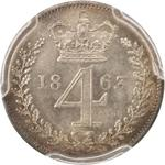 Fourpence 1853 (Maundy): Photo Great Britain 1853 4 pence KM-732