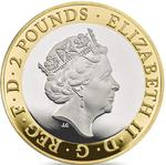 United Kingdom / Two Pounds 2016 Shakespeare - Histories - obverse photo
