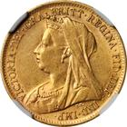 Half Sovereign 1899: Photo Great Britain 1899 1/2 sovereign
