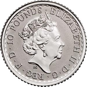 United Kingdom / Platinum Tenth-Ounce (1/10 oz) - obverse photo
