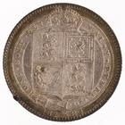 Shilling 1889 Large Head: Photo Silver shilling, Great Britain