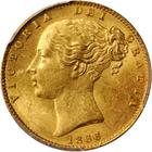 United Kingdom / Sovereign 1866 - obverse photo