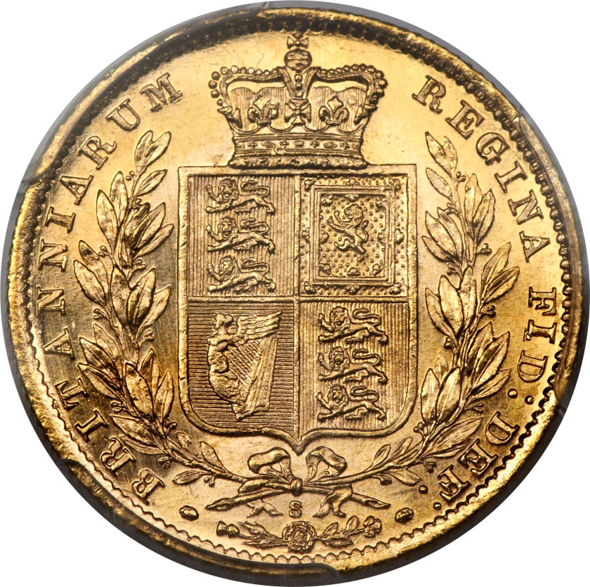 Sovereign 1879 Shield, Coin from United Kingdom - Online