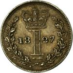 United Kingdom / Penny 1827 (Maundy) - reverse photo