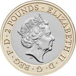 United Kingdom / Two Pounds 2018 Frankenstein - obverse photo
