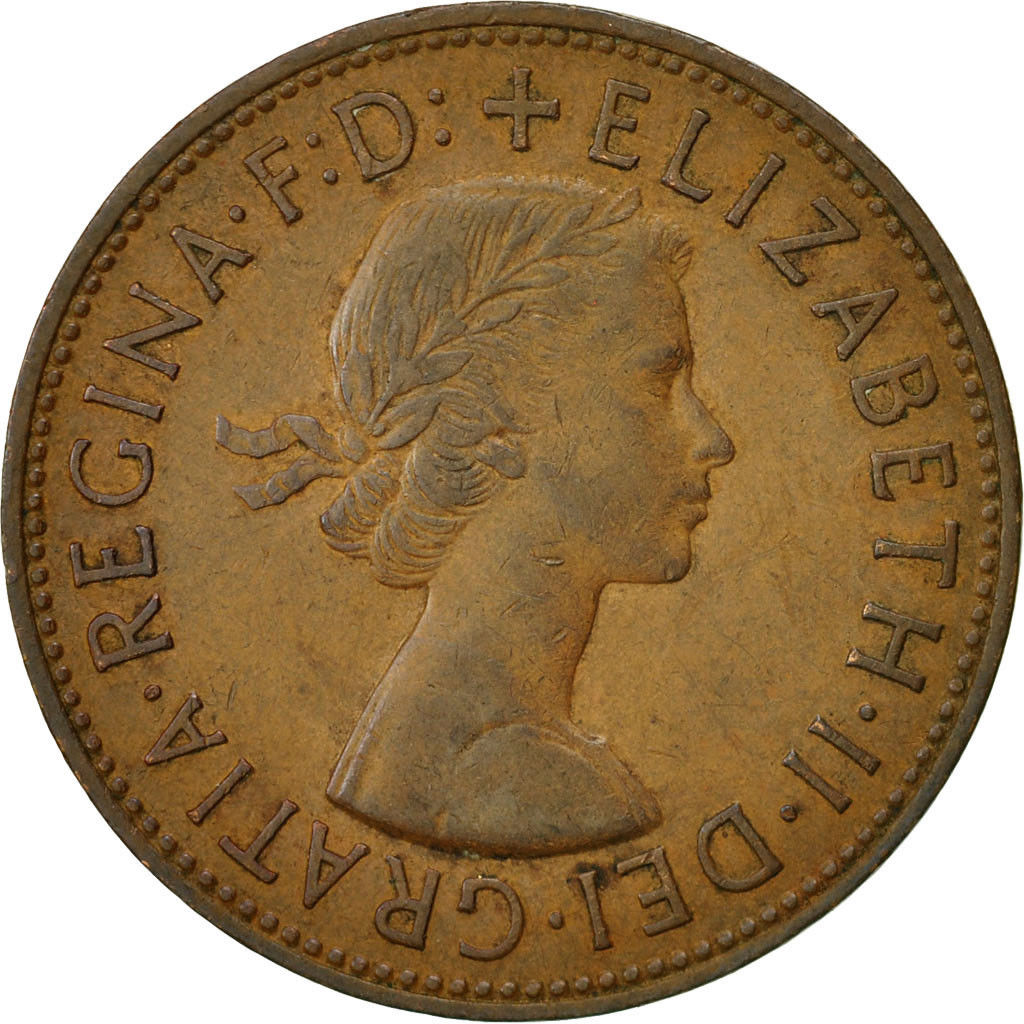 Penny 1965: Photo Coin, Great Britain, Elizabeth II, Penny, 1965