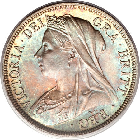 Halfcrown 1899: Photo Great Britain 1899 half crown