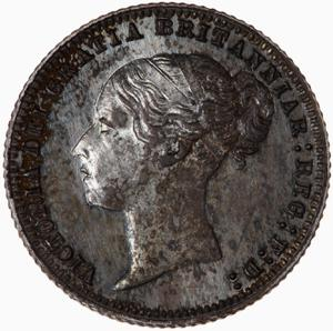 United Kingdom / Sixpence 1879 - obverse photo