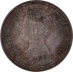 Florin 1879: Photo Coin - Florin, Queen Victoria, Great Britain, 1879