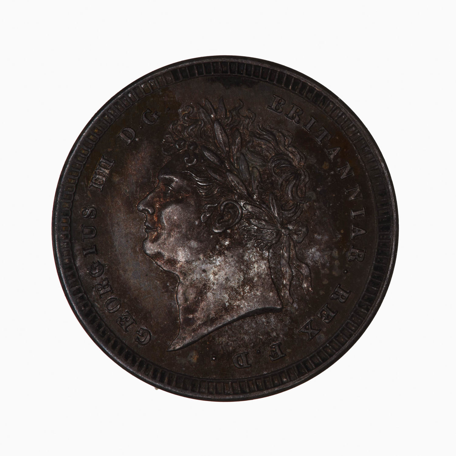 Twopence 1828 (Maundy): Photo Coin - Twopence, George IV, Great Britain, 1828